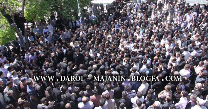 عکس مراسم تشییع پیکر حاج تقی شریعتی
